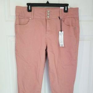 D. Jeans Modern Fit Capri NWT M.Rose High Waist 14